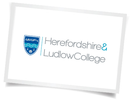 Herefordshire Ludlow College Logo