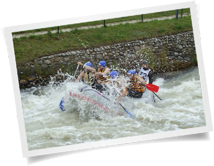 Pervez white water rafting