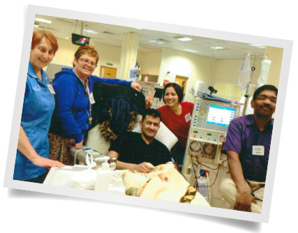 Pervez in Hospital